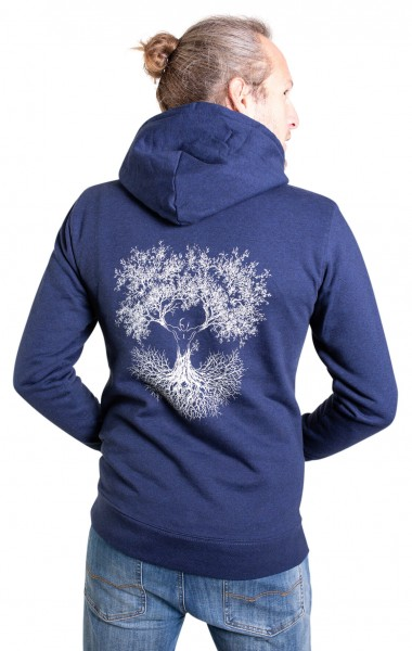 Fairwear Organic Hoodie Men Dark Blue Fusion