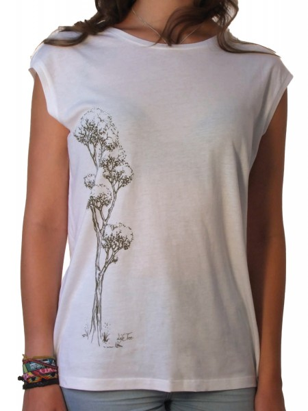 Fairwear Tencel Shirt Women White Rising