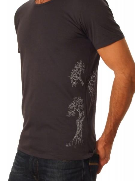 Fairwear Organic Shirt Men Inka Grey Growing Up