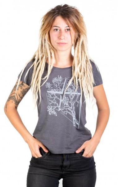 Fairwear Modal Shirt Women Anthrazit LaVista