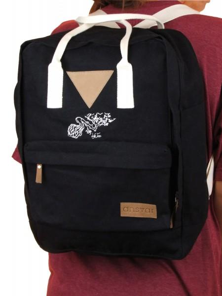 Life-Tree Fairtrade Backpack II Black