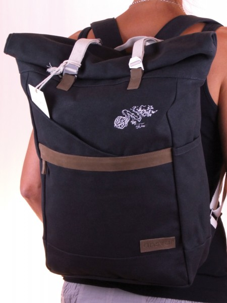 Life-Tree Fairtrade Backpack Anthrazit