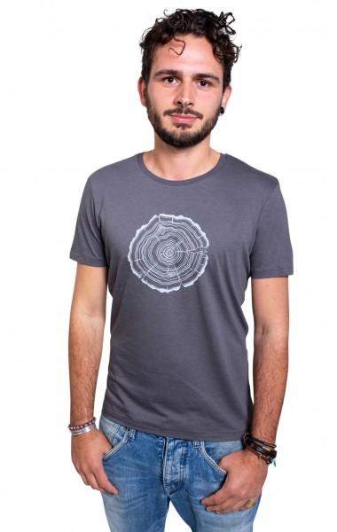 Fairwear Modal Shirt Men Anthrazit Treeslice