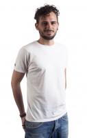 Fairwear Organic Basic Shirt Men Stone Washed White
