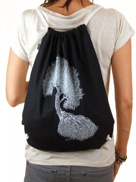 Life-Tree Fairwear Organic Sportbeutel Black