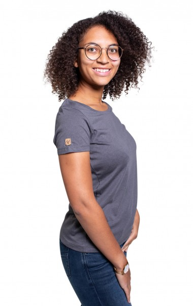 Fairwear Modal Basic Shirt Women Anthrazit