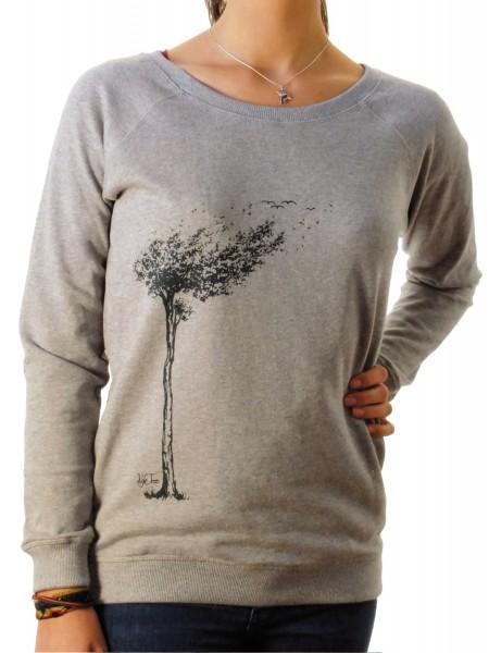 Fairwear Organic Sweater Women Heather Grey
