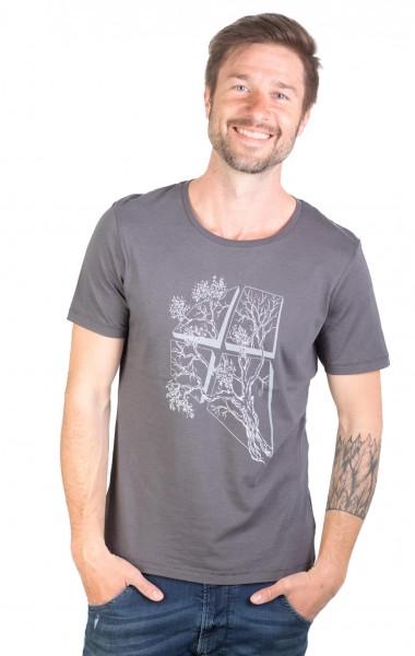 Fairwear Modal Shirt Men Anthrazit LaVista