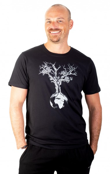Fairwear Organic Shirt Men Black Weltenbaum