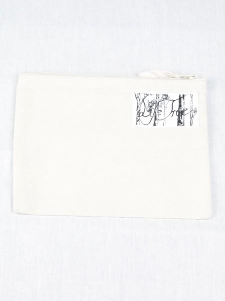 Life-Tree Fairwear Organic Pencilcase Weiß