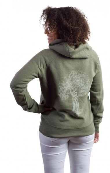 Fairwear Organic Sweater Vereinigung Women Khaki