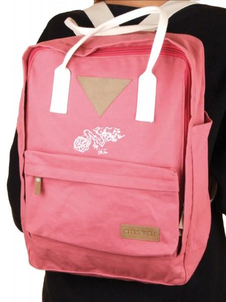 Life-Tree Fairtrade Backpack II Altrosa