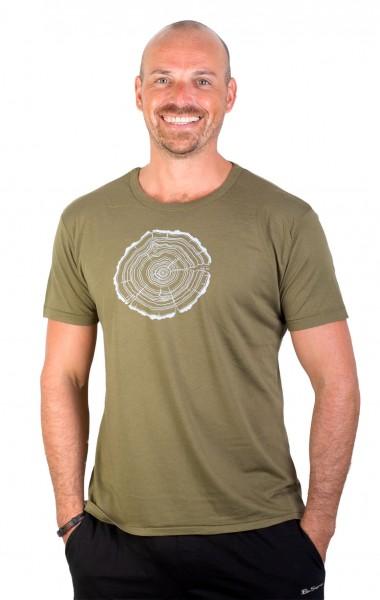 Fairwear Bambus Shirt Men Moss Green Treeslice