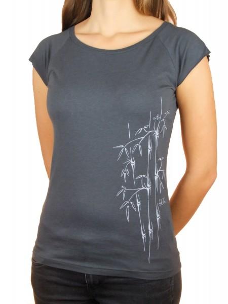 Fairwear Bambus Shirt Women Charcoal Bambusstudie
