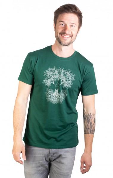 Fairwear Ecovero Shirt Men Bottle Green Fusion