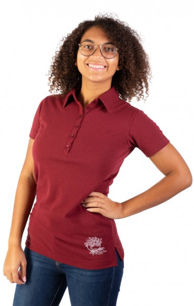 LT-Function Bioaktiv Polo Burgundy Women