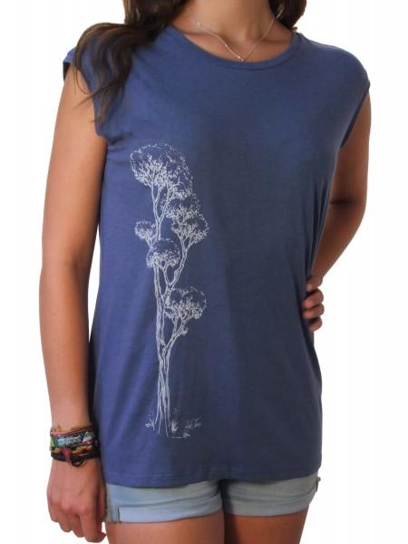 Fairwear Tencel Shirt Women Faded Denim Rising