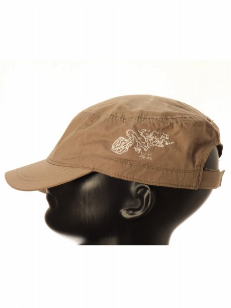 Life-Tree Fairwear Cotton Army Cap Taupe