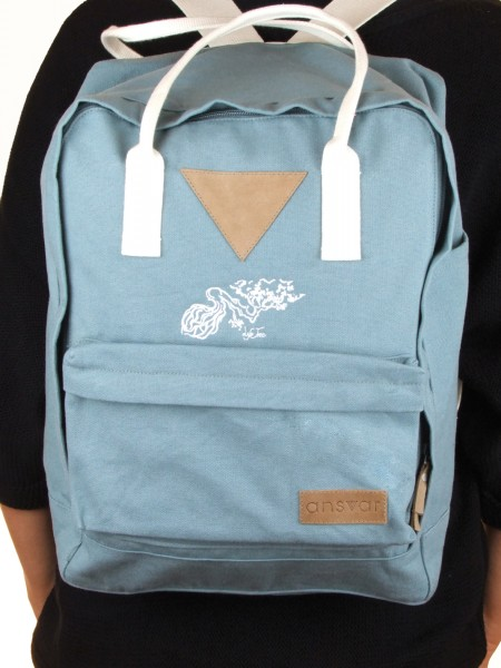 Life-Tree Fairtrade Backpack II Petrol