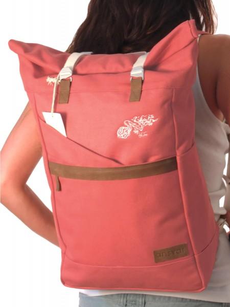 Life-Tree Fairtrade Backpack Altrosa