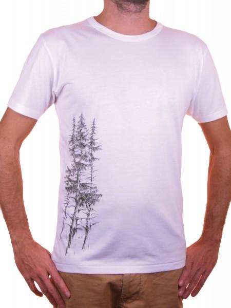 Fairwear Bambus Men Weiß Fichtenwald