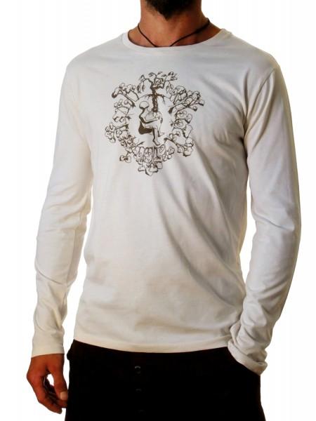 Fairwear Organic Longsleeve Men Vintage White