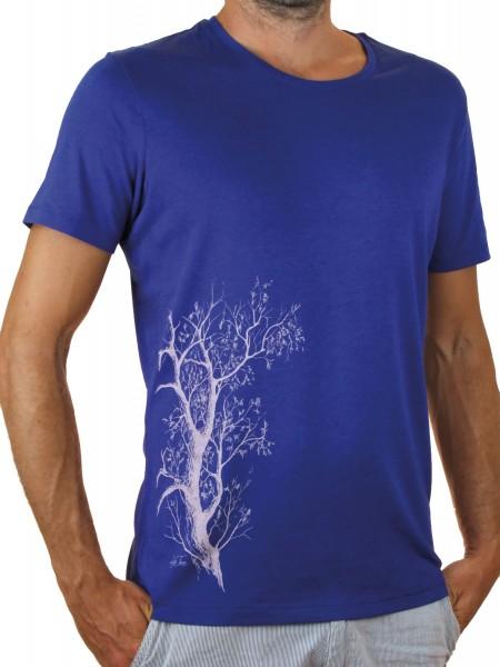Fairwear Modal Shirt Men Royal Blue Esche