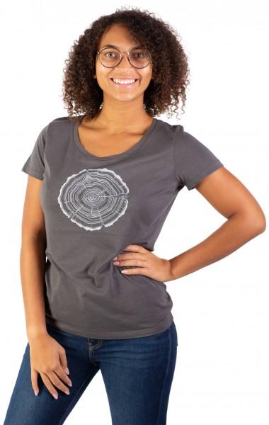 Fairwear Modal Shirt Women Anthrazit Treeslice