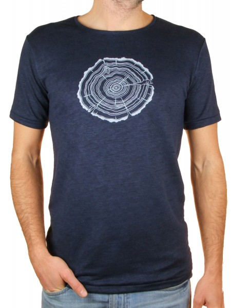 Fairwear Hanf Shirt Deep Blue Men Treeslice