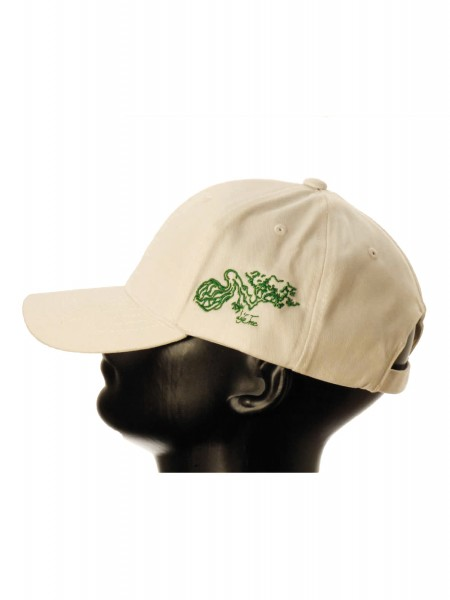 Life-Tree Fairwear Organic Cotton Cap Weeiß