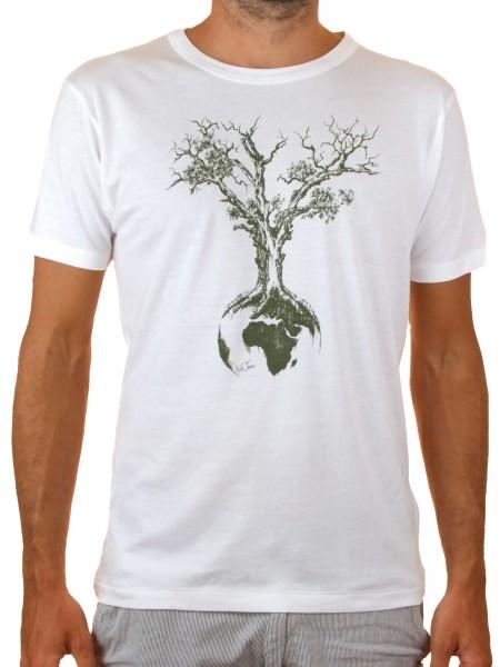 Fairwear Tencel Shirt Men White Weltenbaum