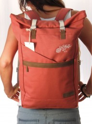 Life-Tree Fairtrade Backpack Altrosa