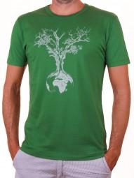 Fairwear Bambus Shirt Men Leaf Green Weltenbaum