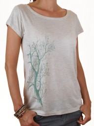 Fairwear Modal Shirt Women Heather Beige Esche