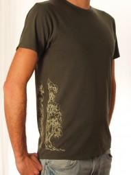 Fairwear Organic Shirt Army Green Men Devided