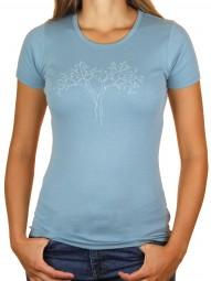 Fairwear Organic Rib Shirt Citadel Blue Reduced