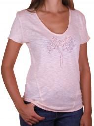 Fairwear Organic Deep-Neck Shirt Pale Peach Reduced