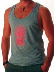 Fairwear Tanktop Men Melange Grey