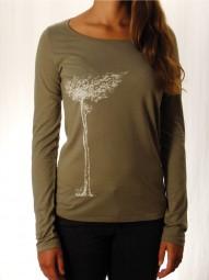 Fairwear Tencel Longsleeve Women Khaki