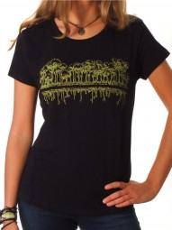 Fairwear Tencel Shirt Women Black Mirror